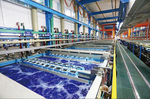 全自动塑料电镀生产线